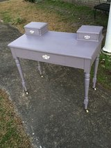 antique oak chalk painted desk in Cherry Point, North Carolina