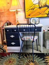 antique chalk painted desk & chair in Camp Lejeune, North Carolina