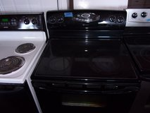 Maytag Black Glass Top Electric Stove in Fort Riley, Kansas