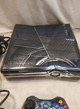 Xbox 360 halo 4 limited edition console system  ( call my cell phone only ) in Okinawa, Japan