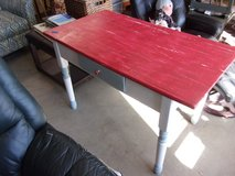 Vintage Deck Table With Drawer in Fort Riley, Kansas