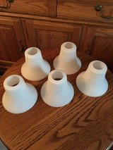 5 White Glass Shades #5 in Wheaton, Illinois