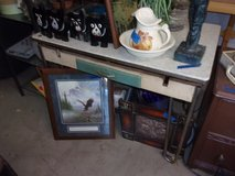 Vintage Kitchen Table With Drawer in Fort Riley, Kansas