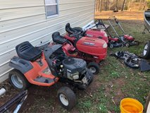 A bunch of Mowers in Warner Robins, Georgia