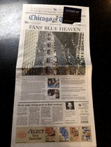 Chicago Tribune - Cubs, Fans Blue Heaven Sunday paper in Glendale Heights, Illinois