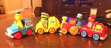 Vintage Sesame Street Vehicles in St. Charles, Illinois