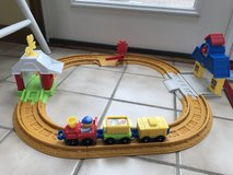 Little people connect & play railway in Lockport, Illinois
