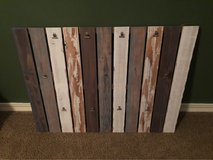 Large Pallet Style Wall Photo Hanger in Kingwood, Texas