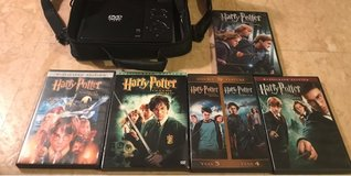 6 Harry Potter Movies DVDs in Okinawa, Japan