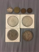 Silver Dollars, Buffalo Nickel, Indian Pennys in Spangdahlem, Germany