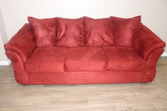 Red Sofa in Spring, Texas