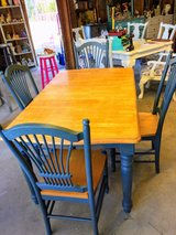 farm table & 4 chairs in Cherry Point, North Carolina