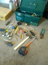 Tool box with Tools in 29 Palms, California