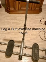 Leg & Butt exercise machine in Grafenwoehr, GE
