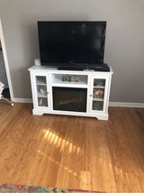 tv stand with fire place in Warner Robins, Georgia