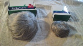 Paula Young Silver Gray Full Wig &Top Swirl Bun in Bolingbrook, Illinois