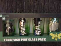 """Breaking Bad"" 4 pack pint glass pack in Joliet, Illinois"