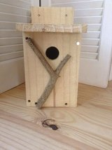 Outdoor bird house HAND CRAFTED in Beaufort, South Carolina