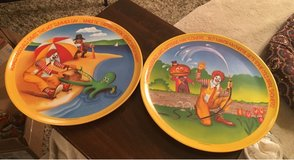 Vintage McDonald's Plates in Wheaton, Illinois