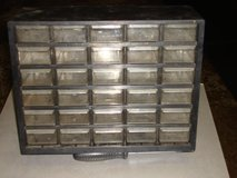 30 DRAWER PLASTIC STORAGE CASE in Aurora, Illinois