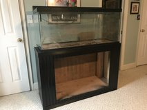 Large Aquarium with custom cabinet stand in Byron, Georgia