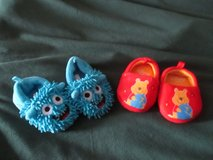 PAIR BABY SLIPPERS SIZE 2 & 3 in Cleveland, Texas