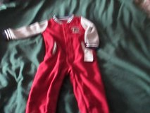 CARTERS NWT SIZE 12M UNIVERSITY A SLEEPER in Cleveland, Texas