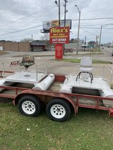 6 ft One Person $900.  each  Mini Pontoon Fishing Boat 2 Available. in Fort Rucker, Alabama