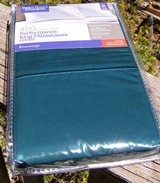 King Pillow Cases, NEW in PKG! Cotton, Deep Green in Alamogordo, New Mexico
