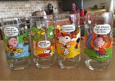 Vintage Camp Snoopy Glasses in Yorkville, Illinois