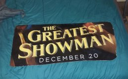 The Greatest Showman poster in Alamogordo, New Mexico