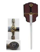 MEDIEVAL KING ARTHUR EXCALIBUR GOLDEN SWORD in Camp Lejeune, North Carolina