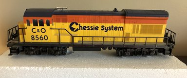 Lionel Chessie U36B Diesel 8560 (Dummy unit) in Joliet, Illinois