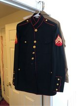 dress blue coat in Quantico, Virginia