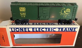 Lionel Chicago Box Car 6-9470 O Gauge in Westmont, Illinois