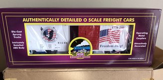 MTH American Freedom 40'Single Door Boxcar O Gauge 20-93092 in Joliet, Illinois