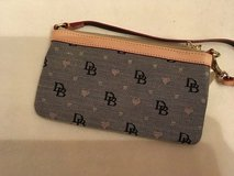 Gray And Brown Dooney & Bourch Wristlet in Ramstein, Germany