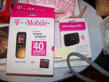 T-Mobile hotspot and cell phone. in Houston, Texas