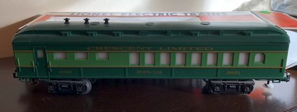 Lionel Trains Southern Crescent Dining Car 6-19001 in Joliet, Illinois