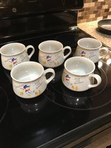 Vintage Duck Soup Bowls / Mugs (5) in Houston, Texas