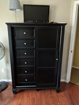 Dresser Sandy Beach - Black Slide Door Chest in Camp Pendleton, California