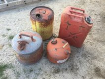 Vintage Gas Cans in 29 Palms, California