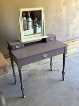 circa 1880's dressing table and mirror in Cherry Point, North Carolina