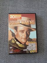 John Wayne DVD's Black and White Movies 4 DVD's in Ramstein, Germany