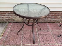 Outdoor Patio Table with Glass in Camp Lejeune, North Carolina