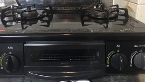 LP gas burner with grill in Okinawa, Japan