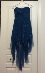 Sparkled blue Homecoming/turn about/Party dress in Naperville, Illinois