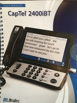 CapTel phone  only about 6mo old paid 100.00 in Conroe, Texas