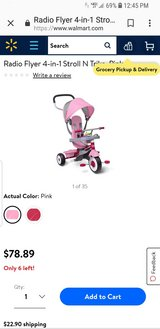 Radio Flyer 4-in-1 Stroll and Trike in Conroe, Texas
