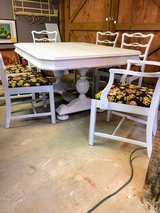 signed ultra high end antique dining set in Cherry Point, North Carolina